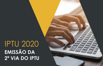 SEGUNDA VIA IPTU 2020