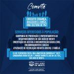 Meriti disponibiliza serviços à população no projeto Circuito Criança, Adolescente e Família