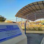 Obras – Praça do Morro do Castelinho é inaugurada