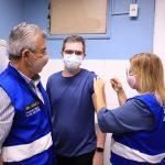 Coronavírus – Começa a vacinação dos profissionais da saúde em Meriti