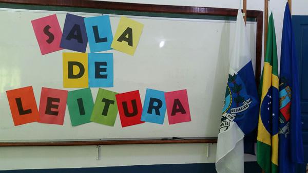 A nova sala de leitura estará sempre à disposição dos alunos da unidade (Assimp Meriti/Divulgação)