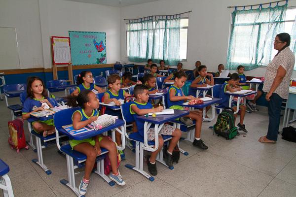 Para o ano letivo de 2017, foram disponibilizadas vagas para a Educação Infantil e o Ensino Fundamental (Assimp Meriti/Glaucio Burle)