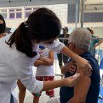 Coronavírus – Faixa etária de vacinação é reduzida para 70 anos e profissionais de saúde a partir de 55 anos