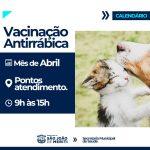 Vacinação antirrábica – Coelho da Rocha, Éden e Grande Rio recebem a campanha este mês