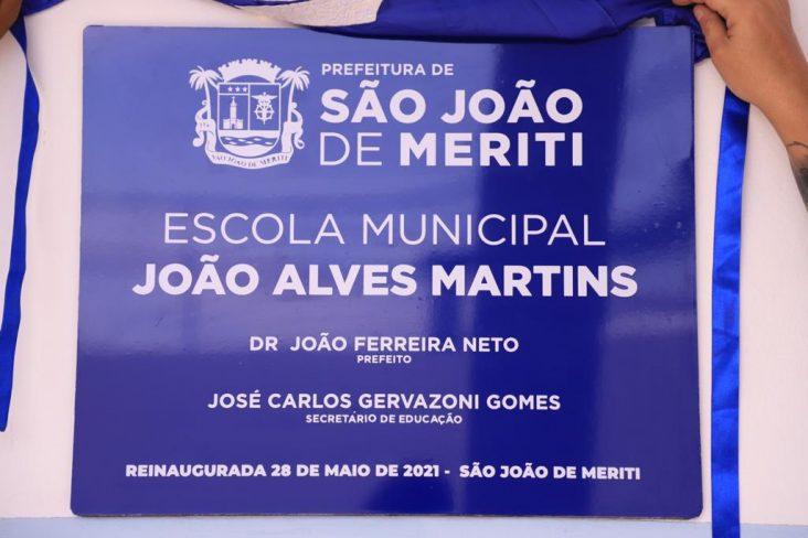 Educação – Prefeitura de São João de Meriti reinaugura escola municipal