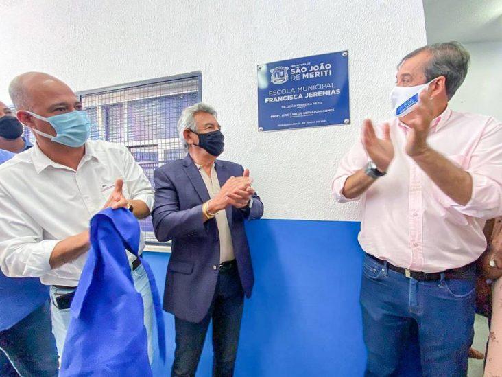 Educação – Prefeitura de São João de Meriti reinaugura segunda escola municipal