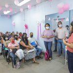 São João de Meriti realiza evento Outubro Rosa no Espaço Femina